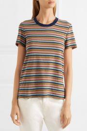 Vintage Boy striped cotton-blend jersey T-shirt at Net A Porter