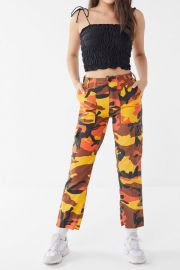 Vintage Colorful Camo Bold Pant at Urban Outfitters
