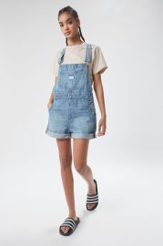 Vintage Denim Shortall Overall at Urban Outfitters