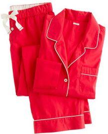 Vintage Pajamas in red by J. Crew at J Crew