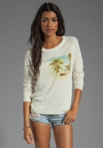 Vintage Photo Sweater by Joie at Revolve