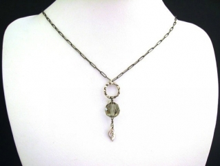 Vintage Swarovski Necklace by SiennaGraceJewelry at Etsy