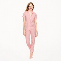 Vintage short sleeve pajamas at J. Crew