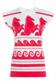Vionnet Wave Print Jersey Tshirt at By Symphony