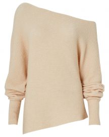Virginia Off-The-Shoulder Sweater at Intermix