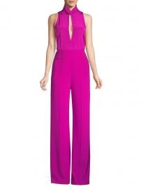 Virginie Knotted Pintuck Jumpsuit at Saks Fifth Avenue