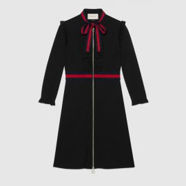 Viscose jersey dress at Gucci