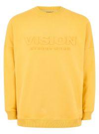Vision Street Wear Embossed Super Sweatshirt at Topman