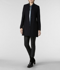 Vita Wool Coat at All Saints