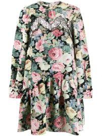 Vivetta Lace Insert Floral Print Dress - Farfetch at Farfetch