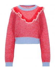 Vivetta Ruffle Sweater at Yoox