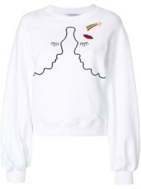 Vivetta Silhouette Embroidered Sweatshirt  339 - Buy SS18 Online - Fast Global Delivery  Price at Farfetch