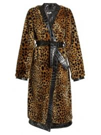 Vivian leopard-print faux-fur coat at Matches