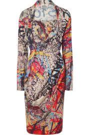 Vivienne Westwood - Grand Fond printed jersey dress at Net A Porter