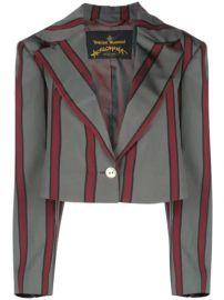 Vivienne Westwood Anglomania  Cropped Pyjama Jacket - Farfetch at Farfetch