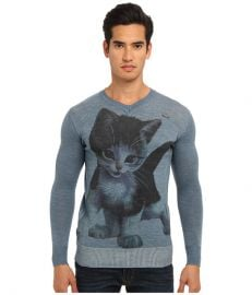 Vivienne Westwood MAN Gold Label Kitten Sweater Indigo at 6pm