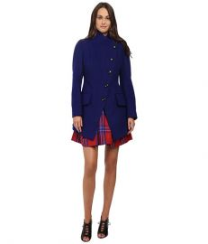 Vivienne Westwood State Coat Royal Blue at 6pm