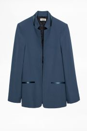 Volly Satin Blazer at Zadig & Voltaire