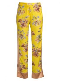 Voyage Jungle-Print Trousers at Saks Fifth Avenue