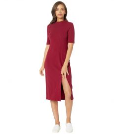 WAYF Gerry Slit Front Rib Knit Dress at Zappos