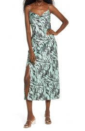 WAYF In Color Tanner Cowl Dress at Nordstrom