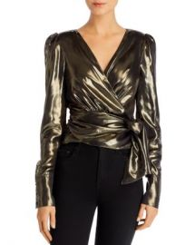 WAYF Lorraine Lam amp eacute  Wrap Top  Women - Bloomingdale s at Bloomingdales