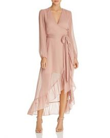 WAYF Only You Ruffled Wrap Dress - 100  Exclusive Women - Bloomingdale s at Bloomingdales