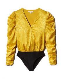 WAYF Sav Puff-Sleeve Bodysuit  Women - Bloomingdale s at Bloomingdales