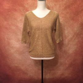 WD.NY Sequin Sweater at Poshmark