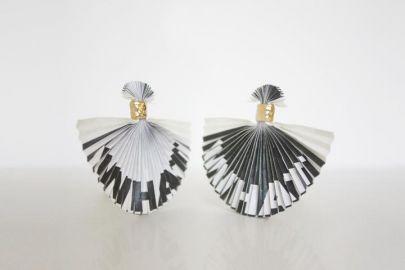 WHAT earrings at Mas & Nobu