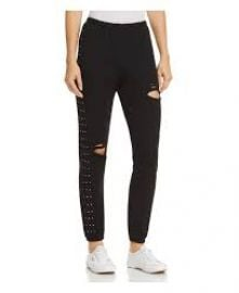 WILDFOX Rainbow Glitz Embellished Sweatpants Women - Bloomingdale s at Bloomingdales