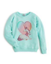 WILDFOX Girls  039  Unicorn Sweatshirt  Sizes 7-14 - 100  Exclusive at Bloomingdales