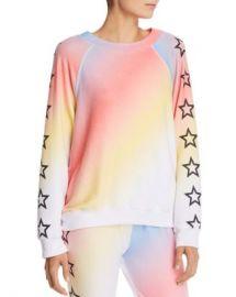 WILDFOX Nebula Rainbow Star Sweatshirt  Women - Bloomingdale s at Bloomingdales