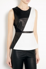 Waldorf peplum top by Elizabeth and James on How I Met Your Mother at My Wardrobe