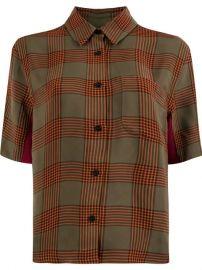 Wales Bonner Checked Shirt - Farfetch at Farfetch