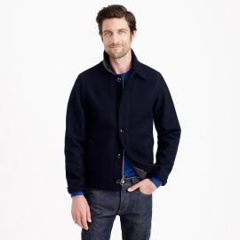 Wallace and Barnes Wool Deck Jacket at J. Crew