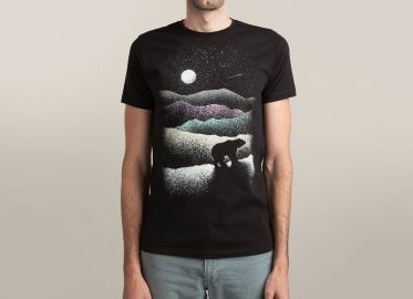 Wandering Bear Tshirt at Threadless
