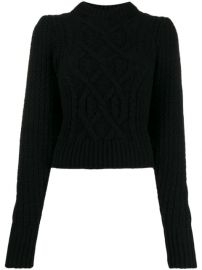 Wandering Cropped cable-knit Sweater - Farfetch at Farfetch