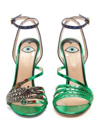 Wangy embellished leather sandals at Matches
