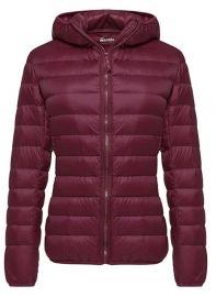 Wantdo Womens Winter Packable Ultra Lightweight Down Coat Warm Short Outwear at Amazon