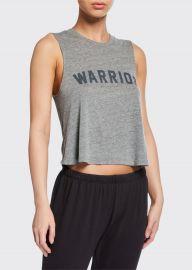Warrior Muscle Crop Tank at Bergdorf Goodman