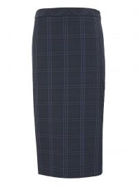 Washable Italian Wool-Blend Pencil Skirt with Side Slit at Banana Republic