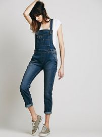 Washed Denim Overall at Free People