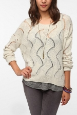 Wave knit sweater from Urban Outfitters like Chloes at Urban Outfitters