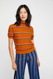 Way Back Mock Neck Sweater by Free People at Free People