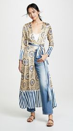 We Are Leone Contrast Maxi Cardigan at Shopbop