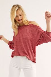 We The Free Chill Out Long Sleeve at Free People
