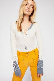 We The Free Railroad Henley by Free People at Free People