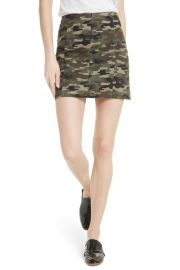 We the Free by Free People Modern Femme Camo Skirt at Nordstrom Rack