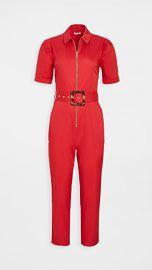 WeWoreWhat Short Sleeve Belted Jumpsuit at Shopbop